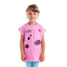 Tricou fete Aeropilote Wow Pop roz