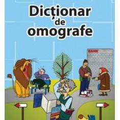 Dictionar de omografe - Ioana Radu Guciu - Manual scolar