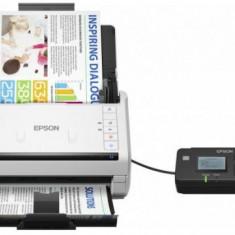 Scanner Epson WorkForce DS-530N, ADF, A4, Retea (Alb)
