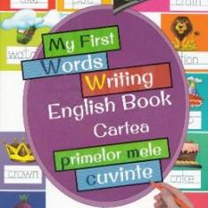 My First Words Writing English Book. Cartea primelor mele cuvinte - Carte educativa