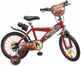 Bicicleta pentru copii Cars 16 inch, Toimsa