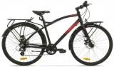 Bicicleta Pegas Hoinar1 8S, Cadru 19inch, Roti 28inch, 8 Viteze (Negru)