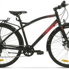 Bicicleta Pegas Hoinar1 8S, Cadru 19inch, Roti 28inch, 8 Viteze (Negru) - Bicicleta Dama