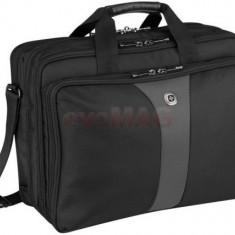 Geanta Laptop Wenger Legacy 600655 17inch Triple Gusset Brief (Neagra)