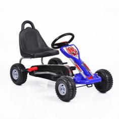 Kart cu pedale pentru copii Falcon Blue