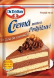Dr. Oetker Crema pentru Prajituri cu Gust de Ciocolata 55g