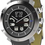 Smartwatch Cogito Classic Leather PGD00034, Bluetooth, Rezistent la apa 100M, curea piele (Gri)