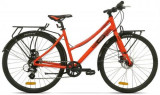 Bicicleta Pegas Hoinar2 8S, Cadru 18inch, Roti 28inch, 8 Viteze (Portocaliu)