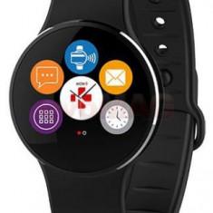 Smartwatch MyKronoz ZeCircle 2, TFT Capacitive touchscreen, Bluetooth, Rezistent la apa si praf (Negru)