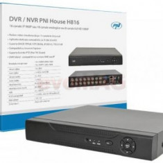 DVR/NVR PNI House H816, 16 Canale IP 960P sau 16 Canale Analogice