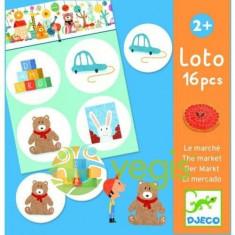 Loto 16 Piesemarket Djeco - Bilet Loterie Numismatica