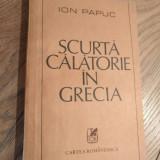Scurta calatorie in grecia de Ion papuc Rc