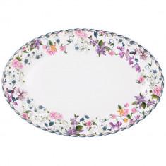 Platou servire oval 30, 6 cm, Portelan, Versailles