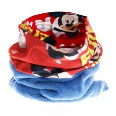 Fular baieti Mickey Mouse albastru