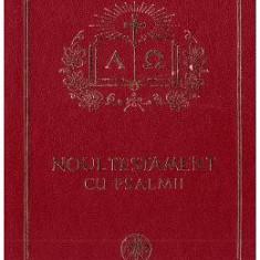 Noul Testament cu Psalmii aurit (format mare)