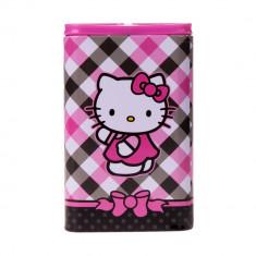 Cutie instrumente scris Hello Kitty roz