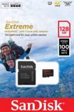 Card de memorie SanDisk Extreme, 128GB, pana la 667 MB/s