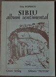 Titu Popescu - Sibiu - album sentimental (prefaţă de Mircea Zaciu + ilustraţii)