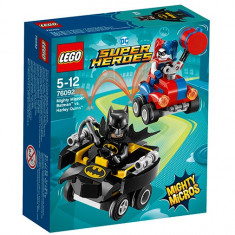 Mighty Micros Batman contra Harley Quinn