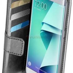 Husa Book Cover Cellularline BOOKAGGALS7EK pentru Samsung Galaxy S7 Edge (Negru) - Husa Telefon