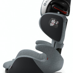 Scaun auto Kiddy Cruiserfix 3 Steel Grey Isofix - Scaun auto copii
