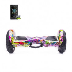 Scooter electric Hoverboard Freewheel Monster S2 Smart Graffiti Mov