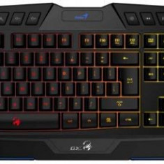 Tastatura Gaming Genius Scorpion K20, Iluminata, USB (Negru)