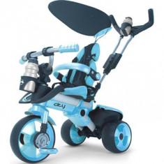 Tricicleta pentru copii Injusa City Blue - Tricicleta copii