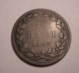 10 bani 1867 Heaton