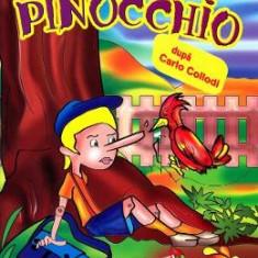 Pinocchio - Carte de colorat - Carte educativa