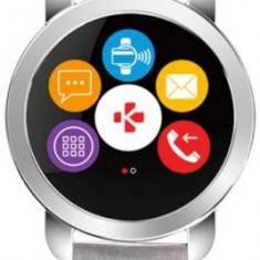 Smartwatch MyKronoz ZeCircle 2 Premium, TFT Capacitive touchscreen, Bluetooth, Rezistent la apa si praf (Argintiu)