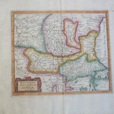 Dacia Moesia Tracia 1624 Philipp Cluver Leiden harta color 011