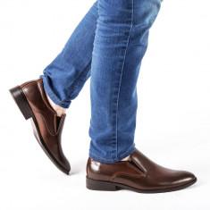 Pantofi barbati Alvah maro