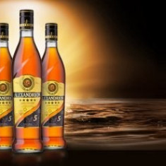 Alexandrion 5* 1l - Cognac