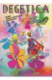 Degetica dupa H.C. Andersen - Carte de colorat, Hans Christian Andersen