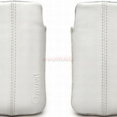 Husa Muvit MUCUN0075 pentru iPhone 3GS/4 (Alba)