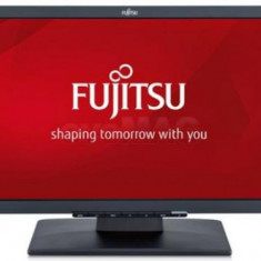 Monitor IPS LED Fujitsu 21.5inch E22T-7 Pro, Full HD (1920 x 1080), VGA, DVI, HDMI, 5 ms, Boxe (Negru) - Monitor LED