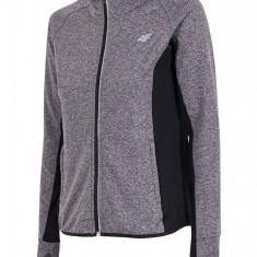 Bluza dama 4F Dry Control grey, material functional - Imbracaminte outdoor