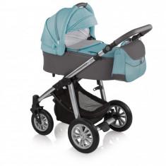 Carucior 2 in 1Baby Design Dotty 05 Turquoise 2017 - Carucior copii 2 in 1