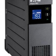 UPS EATON Ellipse PRO, 650VA/450W, 4 x IEC C13 (Negru)