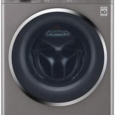 Masina de spalat rufe LG F4J7VY2S, 89 kg, 1400 RPM, Clasa A+++ (Argintiu)