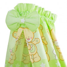 Baldachin Teddy Iepuras verde