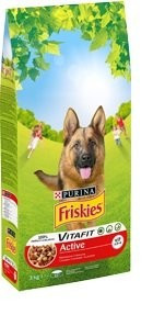 Friskies Dry 10kg Active