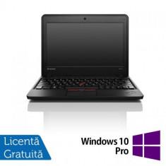 Laptop Refurbished LENOVO Thinkpad x131E (Procesor AMD E2-1800 (2M Cache, up to 1.70 GHz), 11.6inch 4GB DDR3, 320GB SATA, Radeon HD 7340, Win 10 Pro)