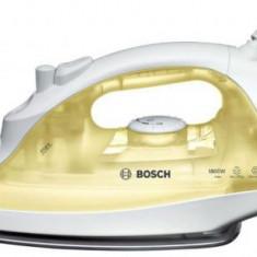 Fier de calcat Bosch TDA2325, Talpa Palladium-Glissee, 1800 W (Alb/Galben)
