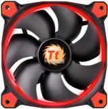 Kit Ventilatoare Thermaltake Riing 12 High Static Pressure, 120mm, 3buc. (Led Rosu)
