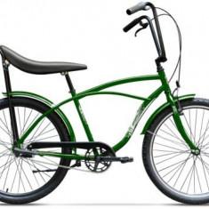 Bicicleta Pegas Strada 1 OTEL 3S 2017, Cadru 17inch, Roti 26inch, 3 Viteze (Verde)