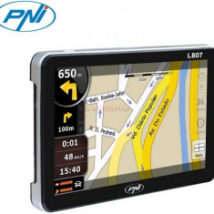 Sistem de navigatie PNI L807, ecran 7 inchi, 800 MHz, 256 MB, 8GB memorie interna, FM transmitter, Fara Harta