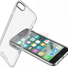Protectie spate Cellularline CLEARDUOIPH755T pentru Apple iPhone 7 Plus (Transparent) - Husa Telefon