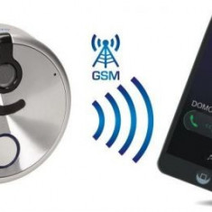 Interfon cu apelare GSM Orno OR-DOM-GS-925, 3 numere de telefon, IP44 (Argintiu)